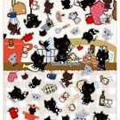 San-X Kutusita Nyanko Kitchen Series Sticker with Glitter - #203