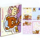 San-X Rilakkuma Staying Up Late Series Sticky Notes/Post-it Memo - #201