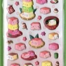 Hannari Tofu Spongy Sticker - Pink (18607)
