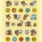 San-X VIVA Rilakkuma Time Glittery Micro Sticker - #N3