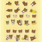 San-X Rilakkuma Sparkly Micro Sticker - #N1