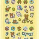 San-X Rilakkuma Glittery Micro Sticker - #P1
