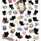 San-X Kutusita Nyanko Romantic Music Series Sticker with Gold Accent - #601