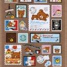 San-X Rilakkuma Bonjour Series Sticker - #702