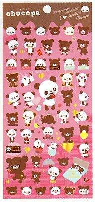 San-X Chocopa Chocolate Series Sticker - #906