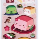 Hannari Tofu Spongy Sticker - Pink (28227)