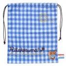 San-X Rilakkuma Bonjour Series Drawstring Bag