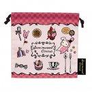 San-X Sentimental Circus Petite Pouch/Drawstring Bag - Pink