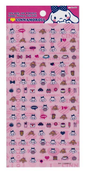 "Sanrio ""Cinnamoroll"" Sticker - Pink"