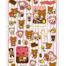 San-X Rilakkuma Chocolate & Coffee Series Sticker - #202