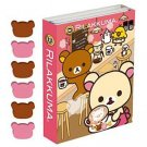 San-X Rilakkuma Chocolate & Coffee Series Memo Flap - #201