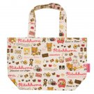 San-X Rilakkuma Chocolate & Coffee Series Canvas Tote Bag - #701