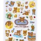 San-X Rilakkuma Onsen Series Sticker - #502