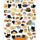 San-X Kutusita Nyanko Recipe Series Sticker - #702