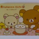San-X Rilakkuma Cafe Series Memo Pad