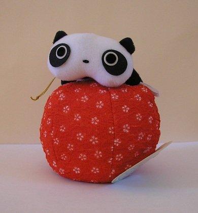 San-X Tare Panda Plush - Tare on a Red Ball