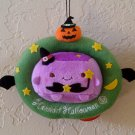 Hannari Tofu Halloween Ornament Hanging Plush - Witch