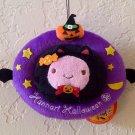 Hannari Tofu Halloween Ornament Hanging Plush - Cat