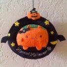 Hannari Tofu Halloween Ornament Hanging Plush - Devil