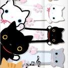 San-X Kutusita Nyanko Sticky Notes/Post-It - Cats