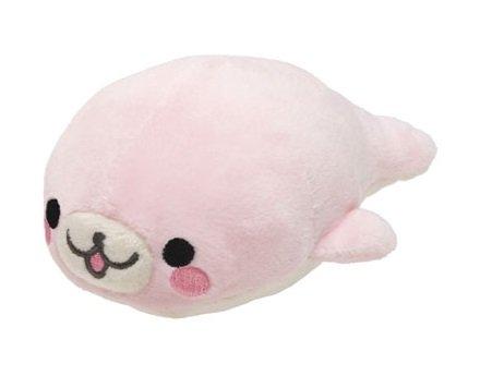 San-X Mamegoma Pink Plush - Sakura Goma