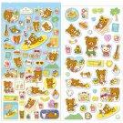 San-X Rilakkuma Aloha Series Sticker Set - #401