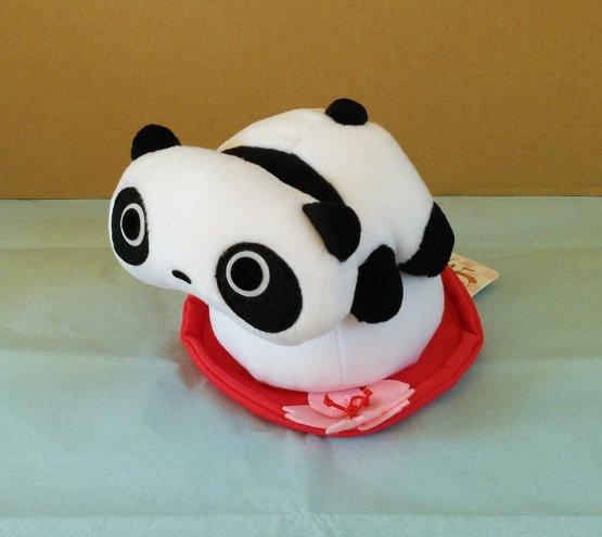 San-X Tare Panda Plush - Mochi & Cherry Blossom