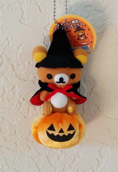 San-X Rilakkuma Halloween Hanging Plush