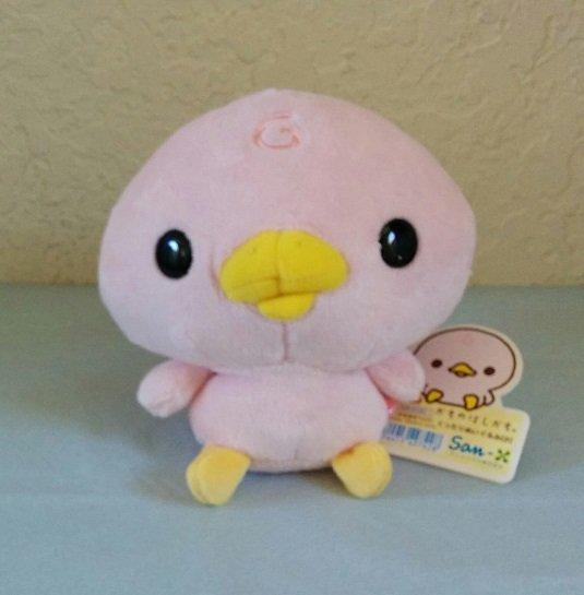 San-X Kamono Hashikamo Plush - Na (Pink)