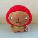 San-X Kogepan Strawberry Series Plush with Removable Hat