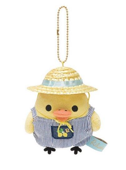 San-X Rilakkuma Fresh Lemon Series Hanging Plush - Kiiroitori