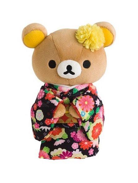 San-X Rilakkuma in Kimono Plush - Rilakkuma