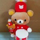 San-X Rilakkuma Store LE 10th Anniversary Parade Plush - Drummer
