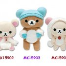 San-X Rilakkuma Cold Weather Series Plush - Rilakkuma & Earmuffs