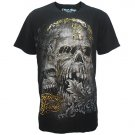 ETERNITY METAL ROCK Size L Black Tattoo Street T-SHIRT Men e01