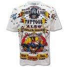 KUSTOM KULTURE PUNK SAILOR Size L Men Tattoo White T-SHIRT k61