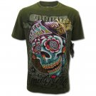 MINUTE MIRTH FUNKY ART ROCK Size L Street Tattoo T-SHIRT m12