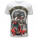 MINUTE MIRTH Skull Hard Rock Size M Tattoo T-SHIRT Men m14