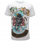 MINUTE MIRTH FUNKY ART  Size M Tattoo T-SHIRT Men m26