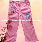 100% NEW Girls Corduroy Pants With Embroidered - SUN-O Children's Wear