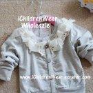 100% NEW Girls Sweater Grey - Wholesale Children's Wear