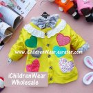 100% NEW Girls Yellow Sweater - Wholesale Children's Wear