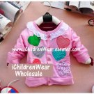 100% NEW Girls Light Pink Sweater - Wholesale Children's Wear
