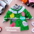 100% NEW Girls Green Sweater - Wholesale Children's Wear