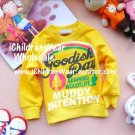 100% NEW Girls Yellow Sweatshirts - Wholesale Children's Wear
