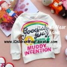 100% NEW Girls White Sweatshirts - Wholesale Children's Wear