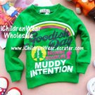 100% NEW Girls Green Sweatshirts - Wholesale Children's Wear