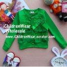 100% NEW Girls Sweater Green - Wholesale Children's Wear
