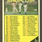 1961 Topps baseball set # 98B Series 2 Checklist unmarked