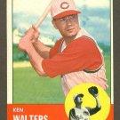 1963 Topps baseball set # 534 Ken Walters Cincinnati Reds